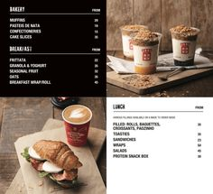 Food Archives - vida e caffè Breakfast Wraps, Coffee Menu, Fruit In Season, Confectionery, Food Menu, Granola, Sandwiches, Bakery, Rolls