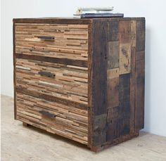 Lake Tahoe Chest -There are a couple of obvious benefits to decorating your home with furnishings made from reclaimed wood and timber. First you're helping Mother Earth by reducing the number of trees harvested each year. And second, you're adding furniture that embodies the character, grain pattern and beauty of wood that can be over 50 or 100 years old.