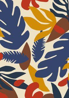 floral 🍂 minakani flowers leaf exotic tropical papercut hawaii tiki pattern exoticflowerstropical is part of Flower illustration - Flower Illustration Pattern, Illustration Blume, Pattern Art, Pattern Design, Flower Illustrations, Pattern Fabric, Pattern Paper, Abstract Pattern, Motif Tropical