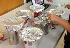 Makey Makey & Scratch alfoil & spoon drums