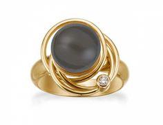RABINOVICH ring forgyldt sølv - Smykker - GLOW SMYKKER