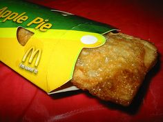 mcdonald's fried apple pie !  They were so much tastier than the now baked version.