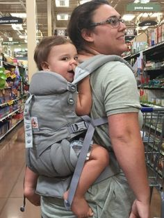13 Essential Baby Items for Surviving the First Year! 13 Essential Baby Items for Surviving the First Year!Last Updated on September sent me the new Omni 360 baby carrier to t Pregnancy Must Haves, Baby Must Haves, First Pregnancy, Babies First Year, First Time Moms, First Baby, Baby Items Must Have, Baby Footprints, Breastfeeding And Pumping