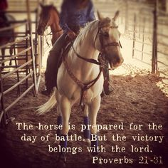 Another quote I put on a picture of my horse