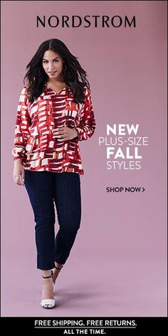 NORDSTROM - Shop Plus-Size Trends for Fall