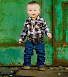 lil cowboy cuteness