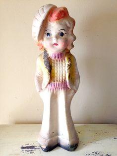 Carnival chalkware doll