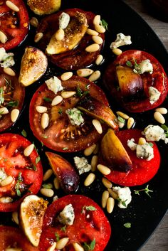 NYT Cooking: Whether you get them from your backyard garden or the local farmers' market, tomatoes are one of summer's sweetest staples. In the kitchen, one of the best things a cook can do with a surfeit of ripe summer tomatoes is not to cook them. With such tasty beauties available (and given the tomato-pleasing heat), salads make more sense. Start simply by slicing big tomatoes%...