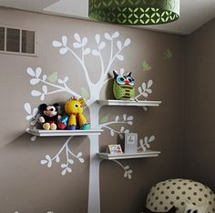 cute wall for the children's chamber