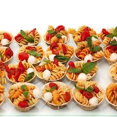 Cassolettes de pâtes