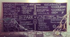 Check out this blog by Park + Vine owner Dan Korman, and find out more information about upcoming events at his shop.