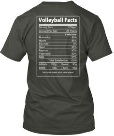 Volleyball Facts - What Are You Made Of?
