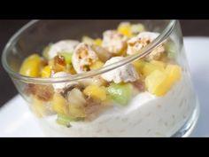 Riz au lait, meringue à la noix de coco - recette pour bébé - YouTube