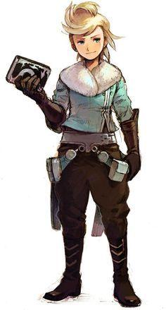 Ringabel Character Concept, Character Art, Concept Art, Character Design, Fantasy Warrior, Fantasy Rpg, D D Characters, Fantasy Characters, Bravely Default