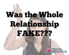 "Was the Whole Relationship FAKE??? - Do you suffer from what Michael Fiore calls ""The Assumption?"" Read on to see how it can negatively affect your relationship to the point where you could end up constantly doubting your partner unnecessarily... #relationship #problems #dating #advice"