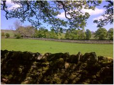 Over the garden wall......  Middleton in Teesdale