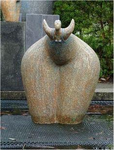Concrete Sculpture, Sculpture Clay, Abstract Sculpture, Ceramic Figures, Ceramic Art, Statue, Fat Art, Raku Pottery, Yoga Art
