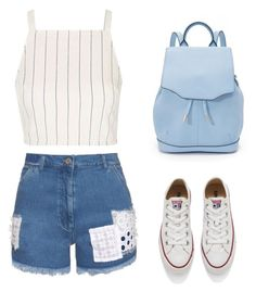 """""""Untitled #264"""" by museavenue on Polyvore featuring House of Holland, Topshop, Converse and rag & bone"""