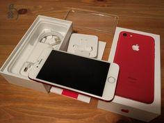 IPhone 7 Red 128GB, független, hibátlan állapotban, 2018 áprilisig Apple gari