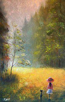 Obrazy - Na začátku lesa - 8186443_