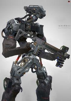 I really like the head, pelvis, and knees.  The framework of the pelvis especially implies a modular design.