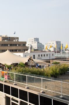 A summery festival on the Roof of our store in Rotterdam #RooftopFestival #deBijenkorf #SummerVibes #Rotterdam