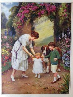 Arthur J. Elsley saint bernard print