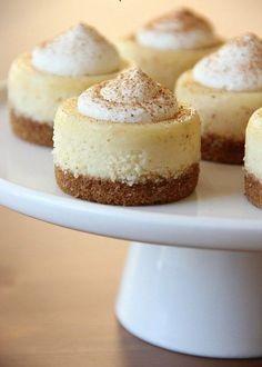 Mini-Eierlikör-Cheesecake