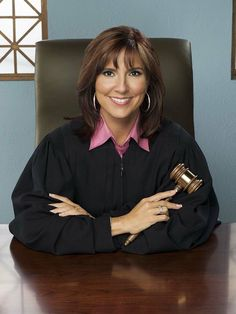 The People's Court with Judge Marilyn Milian... She's seems really cool and she always has the nicest earrings!