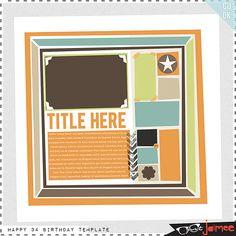 Scrapbooking TammyTags -- TT- Designer - Just Jaimee, TT- Item - Template