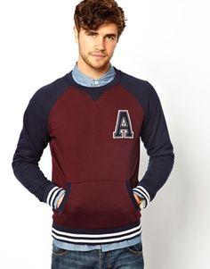 New Look Baseball Sweatshirt