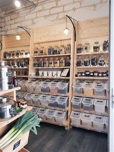 Bulk Store, Eco Store, Zero Waste Grocery Store, Bio Design, Restaurant Bio, Tante Emma Laden, Tienda Natural, Store Displays, Retail Displays