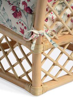 Soane Britain's Rattan Lily Slipper Chair Chair Parts, Armless Chair, Slipper, Rattan, Britain, Beach House, Hand Weaving, Lily, Handmade