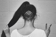 Hidden hair tattoos are the coolest way to upgrade your undercut