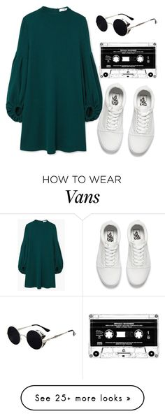 """Indie"" by aries999 on Polyvore featuring MANGO and Vans"