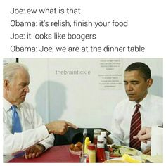 page for Barack Obama and Joe Biden Memes. If you repost, mention the original content maker in caption (it's the right thing to do) Crazy Funny Memes, Wtf Funny, Funny Quotes, Hilarious, Joe And Obama, Obama And Biden, Joe Biden, Humor Mexicano, Obama Funny