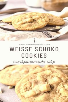 #Chocolate #cookies #rezept #einfach Rezept für weiße Schokoladen Cookies weiche amerikanische White Chocolate Chip Kekse wie von Subway schnell und einfach selber backen Super saftig mit cremigen Schokostückchenbrp classfirstletterScroll down for major schokoladen TopicpIf you dont like everything that chocolate cookies is part of the piece we offer that when you read that piece exactly the features you are looking for you can see In the figure Weiße Schokoladen Cookies  Weiche… Cake Recipes Without Oven, Cake Recipes From Scratch, Easy Cake Recipes, Cookie Recipes, Dessert Recipes, Desserts, White Chocolate Recipes, White Chocolate Chip Cookies, Chocolate Cake
