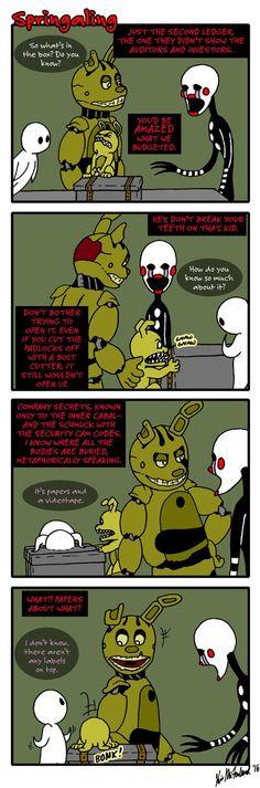 Springaling 131: Much Ado About Paperwork by Negaduck9.deviantart.com on @DeviantArt