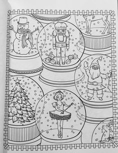 Amazon.com: Creative Haven ChristmasScapes Coloring Book (Adult Coloring)…