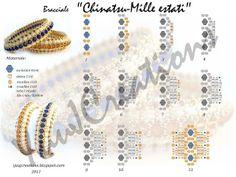 Dream-of-beads: hier die Anleitung zum Netti ( Bracchiale ) Armband