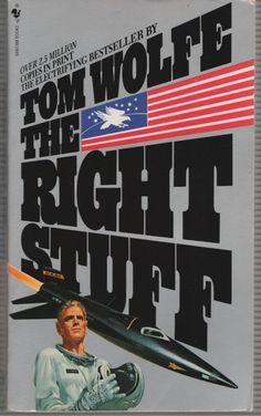 The Right Stuff by Tom Wolfe Paperback) for sale online Tom Wolfe, Space Battles, The Right Stuff, Mass Market, Selling On Ebay, Bingo, Toms, Author, Marketing