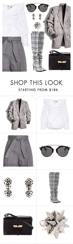 """""""Check it out"""" by pensivepeacock ❤ liked on Polyvore featuring Alexander Wang, Johanna Ortiz, Zimmermann, Christian Dior, John Hardy, Off-White, Loewe and Eddie Borgo"""