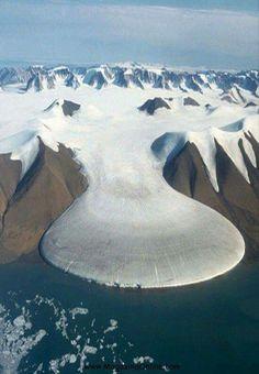 Glaciar del Pie de Elefante, Groenlandia