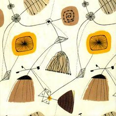 I love the work of Lucienne Day (1917-2010). They still look fresh today!