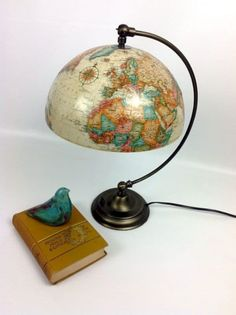 18 DIY Projects for Globe-al Recycling Do-It-Yours. 18 DIY Projects for Globe-al Recycling Do-It-Yourself Ideas Old Globe, Globe Art, Globe Decor, Recycled Decor, Repurposed, Upcycled Vintage, Room Deco, Map Crafts, Globe Crafts