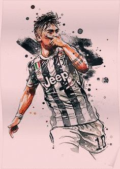 'paulo dybala' Poster by charlieyusup Soccer Art, Soccer Poster, Football Memes, Football Soccer, Juventus Soccer, Messi Soccer, Juventus Fc, Juventus Wallpapers, Cr7 Wallpapers