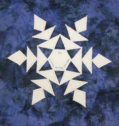 alabama snowflake quilt block