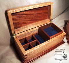 Jewelry Boxes - by JAY Made @ LumberJocks.com ~ woodworking community