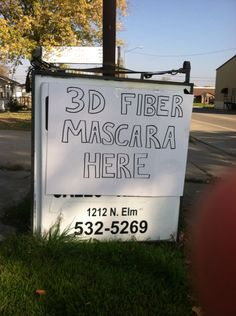 3D Fiber Mascara today at rummage sale. I have some on hand!! Come See Me. I'll be here until 2! On the one way going into central city. Look for this sign! Www.foreverperfectlashes.com
