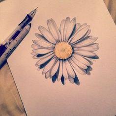 Daisy tattoo for boogie Body Art Tattoos, New Tattoos, Sleeve Tattoos, Cool Tattoos, Daisy Flower Tattoos, Daisy Tattoo Designs, White Daisy Tattoo, Gerbera Daisy Tattoo, Daisy Chain Tattoo